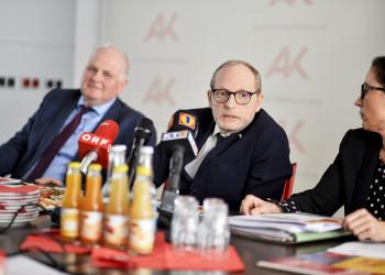 Mag. Werner Gansl (m) © Helge Bauer, AK