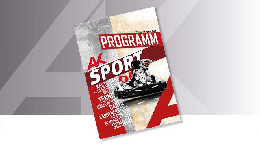AK Sportprogramm 2018 © AK, AK