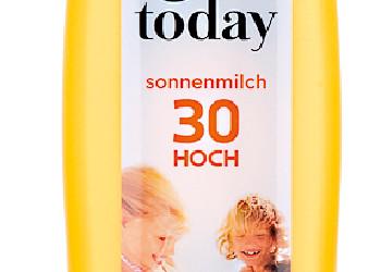 Today Sonnenmilch von Penny/Rewe © Stiftung Warentest
