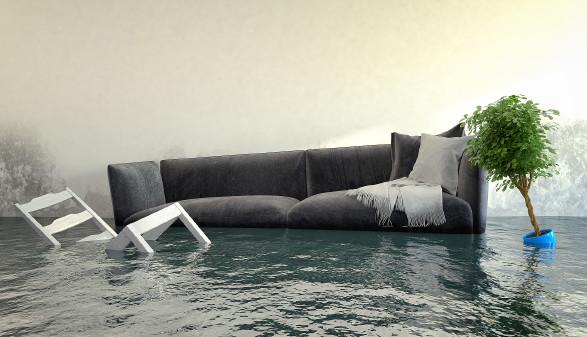 Überschwemmtes Wohnzimmer © marog-pixcells , stock.adobe.com