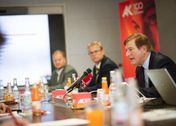 Pressegespräch © AK/Helge Bauer