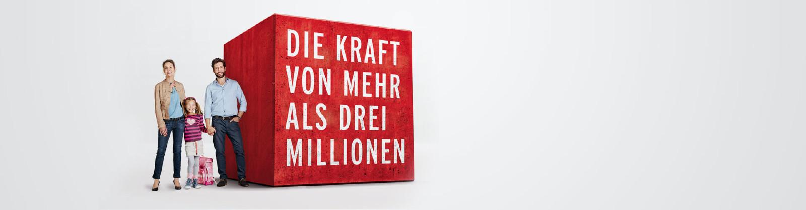 Die Kraft von drei Millionen © E. Steiner, Corporate Matters