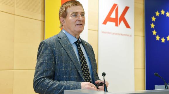 AK-Präsident Günther Goach © Walter Fritz, AK