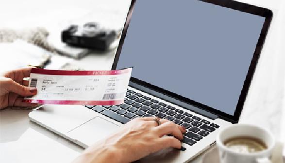 Ticketbestellung über Internet © Rawpixel.com, Fotolia.com
