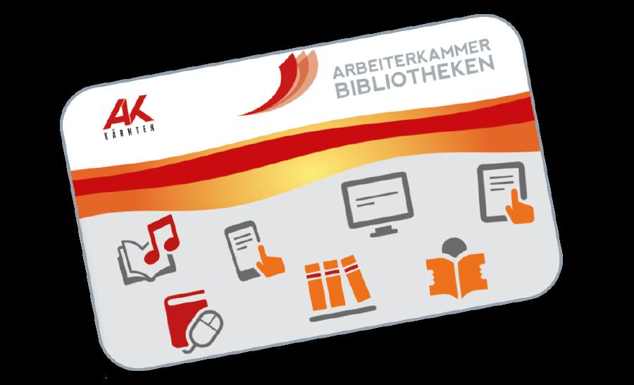 AK-Bibliotheksausweis © AK Kärnten, AK Kärnten