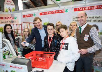 Lehrlingsmesse © Gernot Gleiss, AK-Präsident Günther Goach