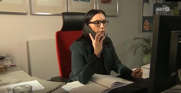 Kißlinger am Telefon © ORF Kärnten, ORF Kärnten