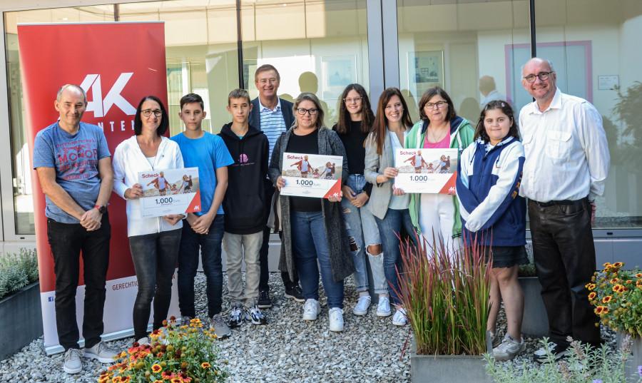 Die Gewinner der Schulkostenstudie 2021 © Fasser, AK