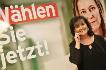 Wahlabend © Dietmar Wajand