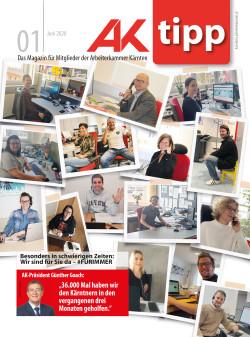 Mitgliederzeitschrift der AK Kärnten - Juli 2020 © Redaktion der Arbeiterkammer Kärnten, AK Kärnten