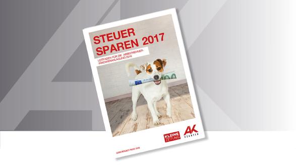 Steuer sparen 2017 © Karlheinz Fessl, AK Kärnten