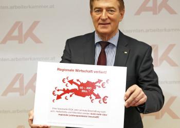 AK-Präsident Günther Goach © Eggenberger, AK