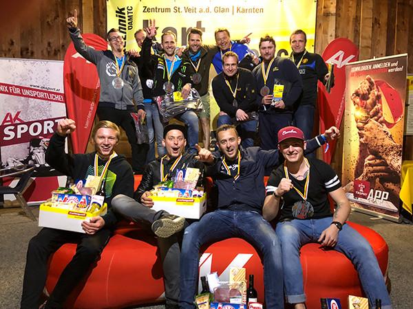 Die Sieger vom 27. April © AK, AK Kärnten