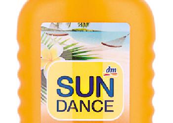 Sundance Sonnenspray von dm  © Stiftung Warentest
