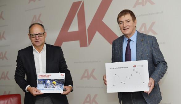 Konjunktur Pressekonferenz 2020 © Helge Bauer, AK Kärnten