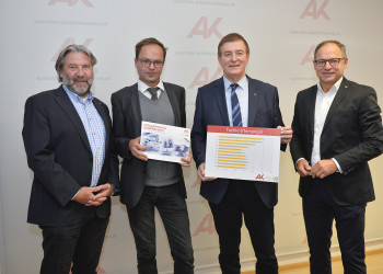 v.l.: Josef Bramer, Eric Kirschner, Günther Goach, Hans Pucker © Helge Bauer, AK