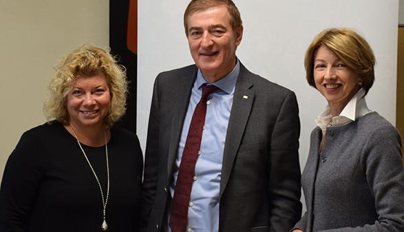 v.l.: Irene Hochstetter-Lackner, AK-Präsident Günther Goach, LHStv.in Gaby Schaunig © Landespressedienst, AK Kärnten