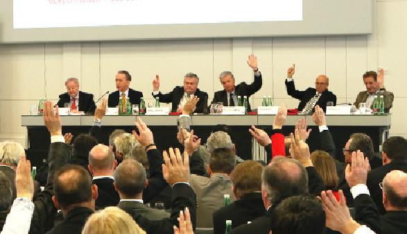 Abstimmung bei Hauptversammlung © Christian Fischer, Arbeiterkammer