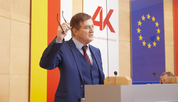 AK-Präsident Günther Goach © Johannes Puch, AK
