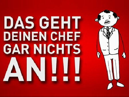 Das geht deinen Chef gar nichts an © News on Video, News on Video