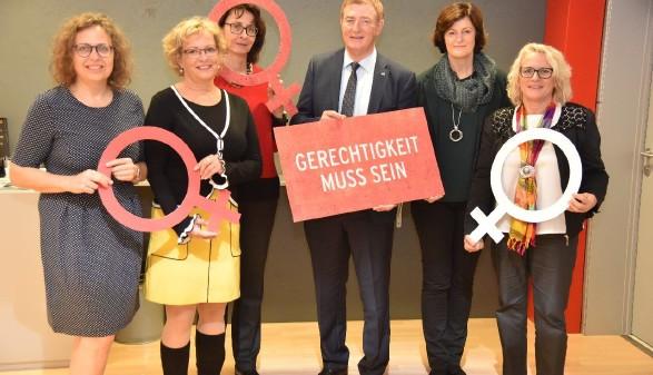 Vorstand der AK Kärnten am Equal Pay Day © Verena Tischler, AK Kärnten