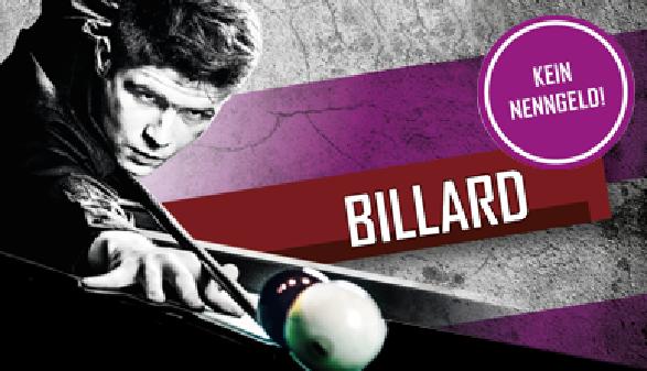 Billard Cup © Montage Fasser, AK Sport ÖGB