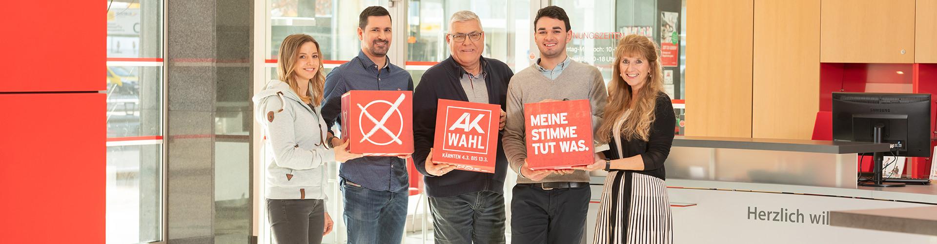 AK-Wahl © Arnold Pöschl, AK
