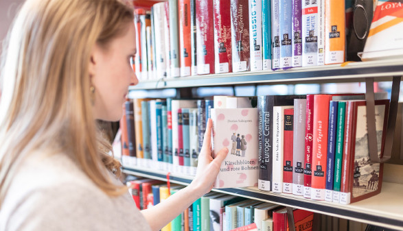 AK-Bibliothek © Roman Huditsch Fotografie