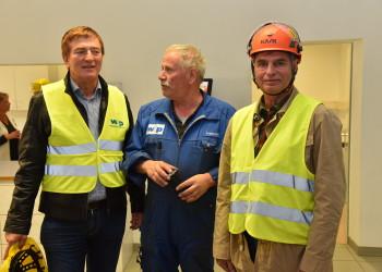 Betriebsbesuch Firma w&P © Sussitz/AK