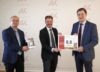 v.l.: Joachim Rinösl, Bernhard Sapetschnig, Günther Goach © Eggenberger, AK
