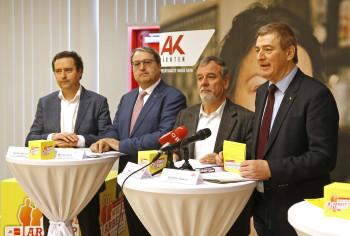 Fotos zum Pressegespräch: Wie soll Arbeit © Eggenberger