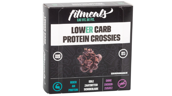 Fitmeals Lower Carb Protein Crossies © VKI