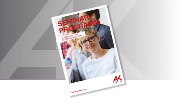 Seminarprogramm 2020/21 © AdobeStock, AK Kärnten