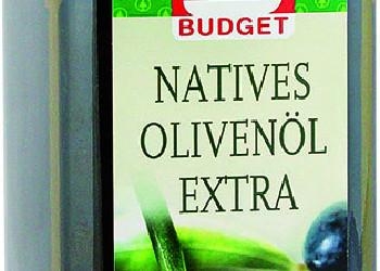 S-Budget Natives Olivenöl Extra ©  , VKI