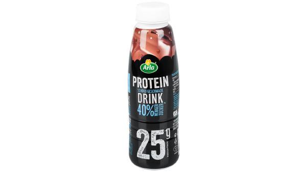 Arla Protein Drink 25g Schoko Geschmack © VKI